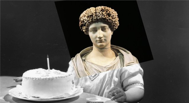 Roman noblewoman Julia, the Old one, died in year 14, to the 54 years, due to the exile and the prison