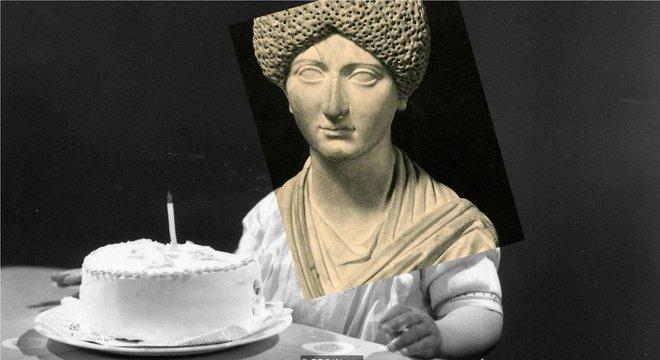 Roman empress Domitia Longina died in 130 to 77 years